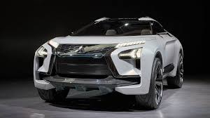 mitsubishi crossover white in tokyo introduced the concept of electric crossover mitsubishi
