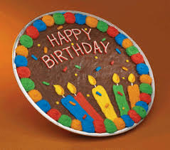 birthday cookie cake brownie happy birthday cookie cake food for thought
