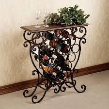 impressive wine holder for table wood wine rack table wine glass