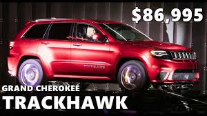 2018 jeep grand cherokee trackhawk price 2018 jeep grand cherokee trackhawk interior exterior walkaround