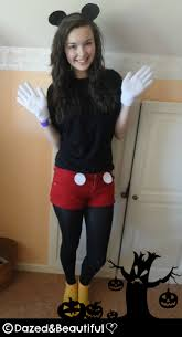 mickey mouse halloween costumes easy college halloween costumes
