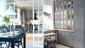 vitrine de cuisine meuble vitrine cuisine ikea socialfuzz me