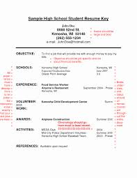 exle of a high school resume objective for resume exle unique career objectives resume