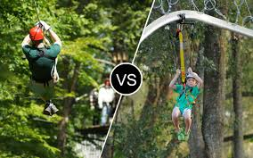 zip line vs zip ride u2013 zipline nirvana