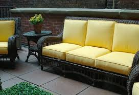 Reduce Wear And Tear By Using Outdoor Furniture Inside - Yellow patio furniture