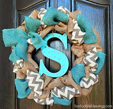 ribbon wreaths wreaths with burlap ribbon bazaraurorita