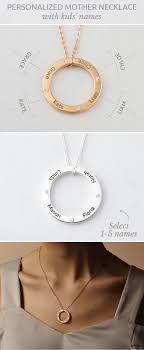 children s name necklace children s names necklace for circle of easy diy
