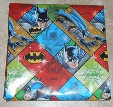 batman christmas wrapping paper wrapping paper collection on ebay