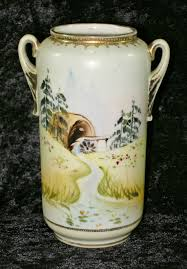 Noritake Vases Value Antique Noritake Nippon Cherry Blossom Hand Painted Vase W Old