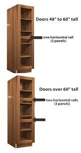 2 Door Pantry Cabinet 2 Glass Door Pantry Cabinet