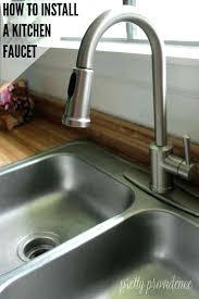 Installing Moen Faucet Moen Kitchen Faucet Installation U2013 Songwriting Co