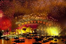 new year celebration 2014 in different countries of world