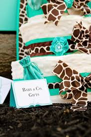 giraffe baby shower ideas kara s party ideas baby co blue inspired baby shower