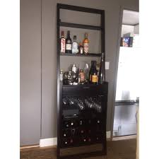 Steamer Bar Cabinet Crate And Barrel Steamer Bar Cabinet With Elegant Lacquered 1500