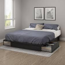 Platform Bed Frame King Wood Bedroom Design Black Platform Bed Frame King Size Wooden