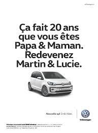 volkswagen ddb volkswagen up campagne d u0027affichage volkswagen agence ddb paris