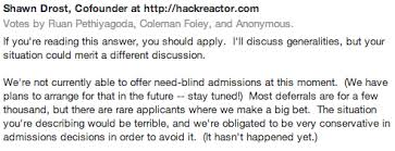 Need Blind Admissions Policy Coding Bootcamps Financial Aid Deferment And Tuition Hack Reactor