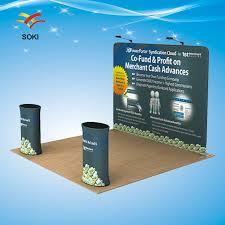 photo booth cost 10ft tension fabric display trade show exhibition booth