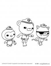 octonauts color pages kids birthday parties coloring