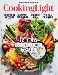 september 2017 magazine features cooking light