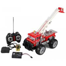 monster rescue fire engine electric rc truck rtr