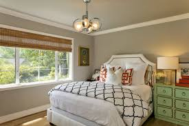 beautiful bedroom decoration 23576 bedroom ideas transitional gray bedroom decoration ideas features funky chandelier image 24 of 28