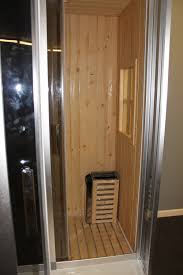 steam shower enclosure with traditional sauna b001 best for bath