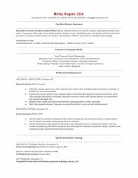 dental assistant responsibilities resume resume ideas
