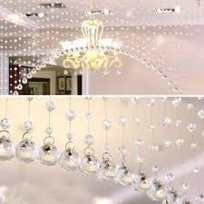 wedding backdrop ebay 1m glass curtain window door curtain passage wedding