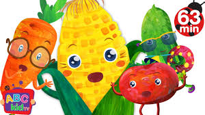 vegetables song more nursery rhymes u0026 kids songs abckidtv