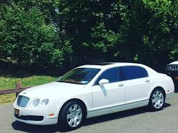 bentley brooklyn white bentley luxury car limo rental cross county limo