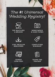 universal wedding registry join 50 000 couples that used blueprint registry for