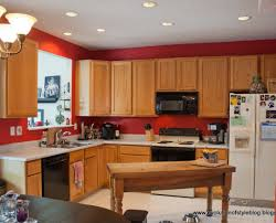 decor captivating paint colors for kitchens with light maple