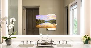 bathroom tv ideas bathroom cabinets bright bathroom mirror television tv lighted