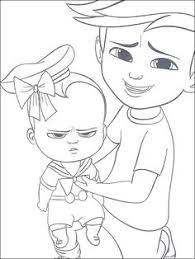 printable boss baby coloring pages coloring pages