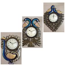 are you looking for beautiful peacock wall clock to decorate your