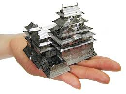 amazon com metallic nano puzzle himeji castle tmn 21 by tenyo