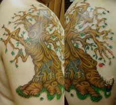 giving tree tattoo