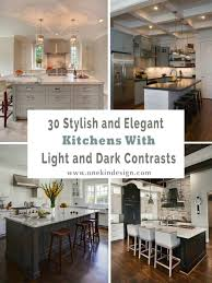 light kitchen cabinets countertops 30 stylish and kitchens with light and contrasts