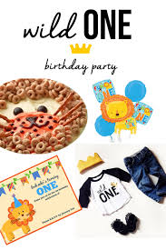 lion first birthday party the best ideas for kids