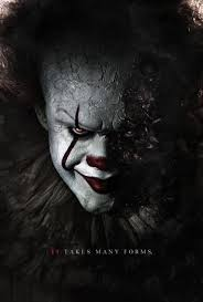 film it stephen king s it 2017 pennywise poster by camw1n deviantart com