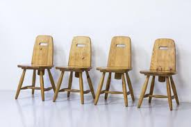 pirtti pine dining chairs by eero aarnio for laukaan puu 1960s
