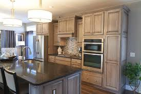 Alabaster White Kitchen Cabinets by Alabaster White Semi Opaque Paint With A Black Glaze Love The