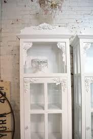 painted cottage chic shabby chateau farmhouse linen cabinet cc626