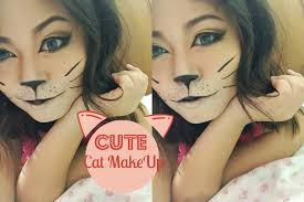cute halloween cat makeup cute cat makeup tutorial youtube