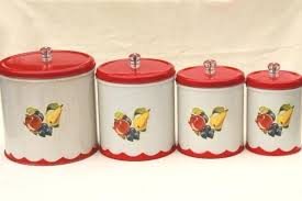 vintage canisters for kitchen canisters for kitchen counter for vintage canister set tins w