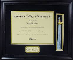 diploma frames with tassel holder diploma tassel picture frame gallery craft decoration ideas