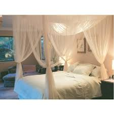 canopy bed curtains pottery barn in sparkling diy canopy bed