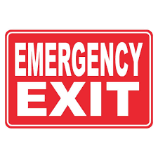 decor awesome decorative exit signs decoration ideas cheap