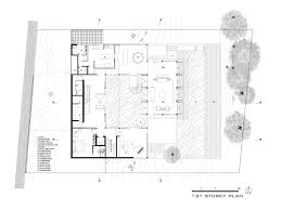 Timber Floor Plan by Gallery Of Hillside House Ar43 Architects 10